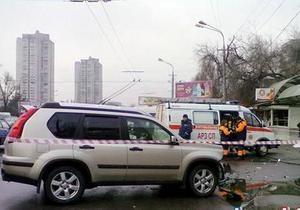 Авария в Днепропетровске - Появилось видео ДТП в Днепропетровске, унесшего жизни четверых человек