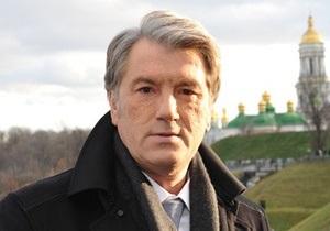 Ющенко через YouTube обратился к украинцам (обновлено)