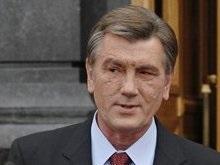 Ющенко отбыл в Москву на неформальную встречу