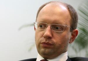 Яценюк - Корреспонденту: Партией регионов руководит страх