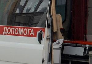 В Харькове столкнулись два пассажирских автобуса, семь человек пострадали
