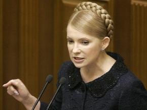 Тимошенко увидела стабилизацию во всех отраслях экономики Украины