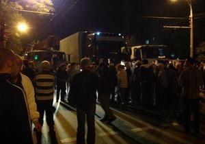 Свобода: В Киеве местные жители остановили незаконную застройку на проспекте Правды
