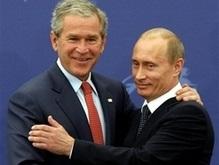 Путин и Буш обсудили предстоящую встречу в Сочи