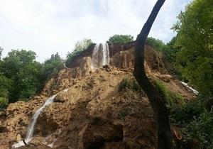 Оползень в Турции уничтожил самый красивый водопад страны
