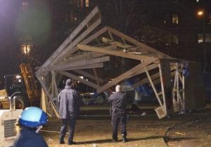 В Вашингтоне полиция задержала 30 активистов движения Захвати Уолл-Стрит