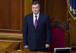 В пресс-службе Президента сообщили, когда Янукович намерен встретиться с лидерами фракций
