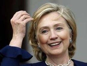 Хиллари Клинтон прибывает в Москву