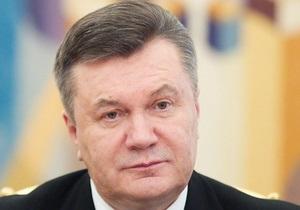 Янукович назвал знаковым визит Нарышкина в Украину, верит в успех газового диалога с РФ