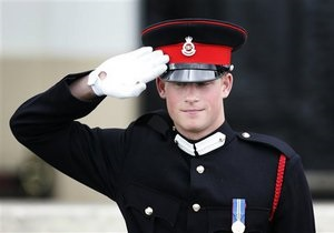 Британский принц Гарри получил звание капитана
