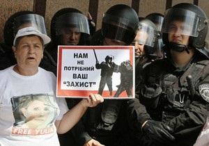 Возле Украинского дома народный депутат совершил наезд на высокопоставленного гаишника