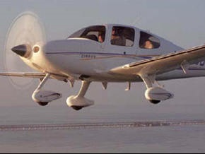 Над Ла-Маншем пропал самолет