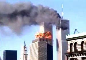 Теракт 9/11: удар второго самолета