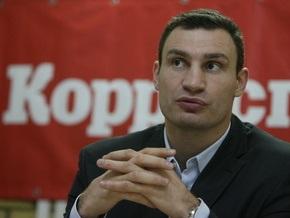 Кличко пожаловался Ульянченко на работу Черновецкого