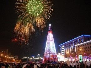 Украинские города экономят на новогодних елках