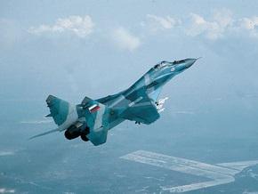 В Забайкалье разбился МиГ-29
