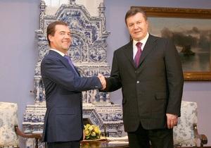 Янукович пообещал, что Украина будет надежным поставщиком российского газа