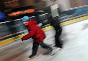 В этом году ледовый каток установят на Подоле, а не на Майдане