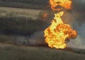 В американском штате Оклахома произошел взрыв на газопроводе