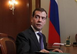 Медведев считает, что Ливия находится на пороге гражданской войны