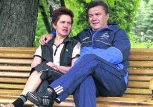 В Администрации Януковича объяснили, почему он не берет жену в Китай