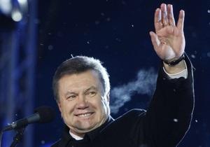 СМИ: Янукович праздновал Новый год в Киеве