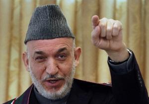 Карзай приказал освободить более тысячи заключенных