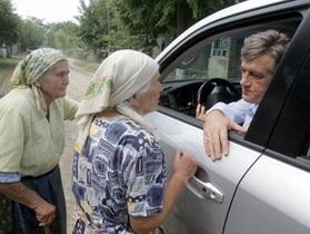 Корреспондент: Сын Януковича ездит на машине Ющенко