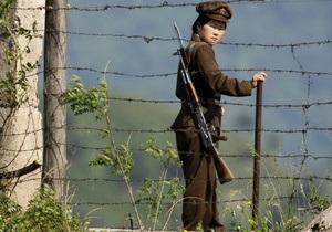 Южная Корея отказалась от переговоров с КНДР