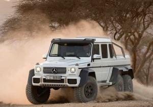 Озвучены цены на шестиколесный внедорожник Mercedes