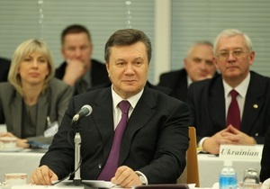 Янукович: Украина заинтересована в присутствии японского бизнеса во всех сферах экономики