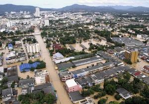 Жертвами наводнения в Таиланде стали 107 человек. СМИ сообщают о сильнейшем ударе стихии за 100 лет