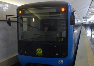 В киевском метро к 2015 году модернизируют 250 вагонов