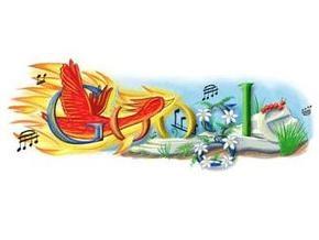 Google сменил логотип в честь дня рождения Стравинского
