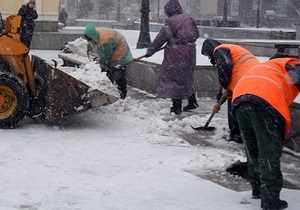 Новости Киева - КГГА - Попов: Власти Киева намерены взять снегоуборочную технику на 100 млн грн в лизинг