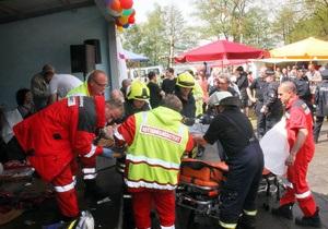 В Германии из-за удара молнии пострадали более 40 человек