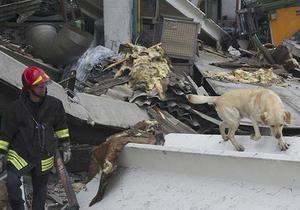 В Италии растет число жертв землетрясения
