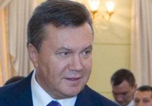 Янукович призвал новых судей не поддаваться влиянию извне
