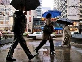 Воскресенье в Украине будет дождливым