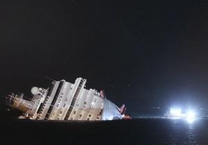 Капитан затонувшего в Италии Costa Concordia арестован