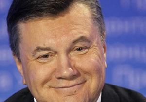 Янукович обнародовал декларацию о доходах