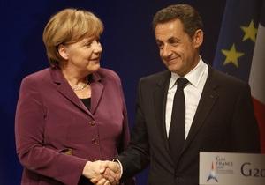 Источник: Париж и Берлин обсуждали возможность уменьшения еврозоны