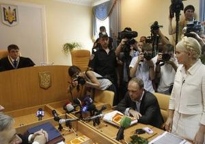 Судья сделал замечание Тимошенко