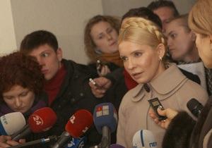 Тимошенко: Янукович может не радоваться - в пятницу я вернусь