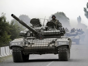 Бронетанковый батальон вооруженных сил Грузии объявил о неповиновении властям