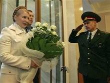 Тимошенко вышла на работу