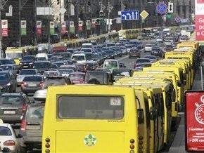 Киевские маршрутчики начинают акцию протеста