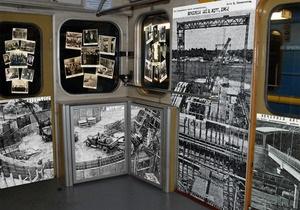 Исторический вагон в киевском метро начнет курсировать 25 марта