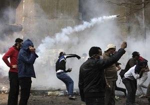 Протестующих в Каире обвинили в планах поджогов парламента