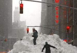 Снегомаггедон: восточное побережье США - в плену у снегопадов